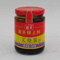海天锦上鲜叉烧酱280g