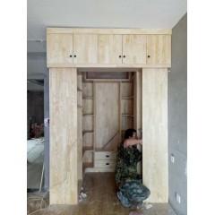 家装-实木大衣柜