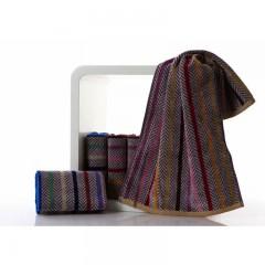 浴巾GA3011蓝棕