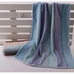 浴巾GA3015蓝棕