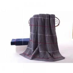 浴巾GA3035灰蓝
