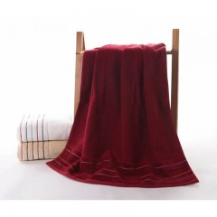 浴巾GA3067红白棕