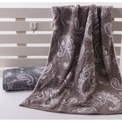 浴巾GA3072棕黑