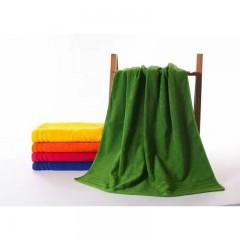 浴巾GA3082绿黄桔红蓝