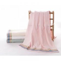浴巾GA3101红棕白绿