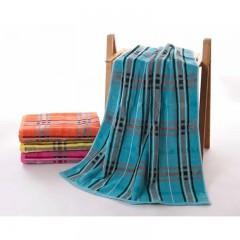 浴巾GA3115蓝桔黄红
