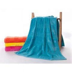 浴巾GA3116蓝桔黄红