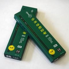 中华绘图铅笔 101 8B/10B/12B 10支盒装