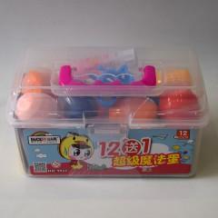 小吉鸭12色超级魔法蛋粘土    9933