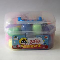 小吉鸭24色超级魔法蛋粘土 9935
