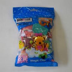 小吉鸭12色袋装轻泥   9927