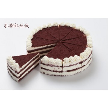 乳脂红丝绒慕斯蛋糕