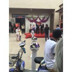加盟店参加婚礼