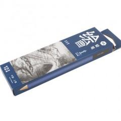 中华绘画铅笔111 HB/2B/4B/6B  盒装