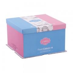 清雅 · 粉蓝 三件套方盒