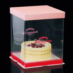 透明翻糖盒(粉)