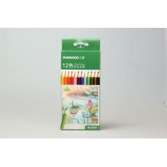 三木12色彩色铅笔  5791