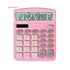 三木计算器   837粉/白