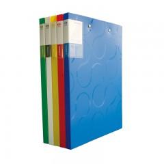 三木柏拉图实色文件夹   双夹  LF3109