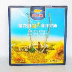 金龙鱼阳光葵花籽礼盒1.8LX2