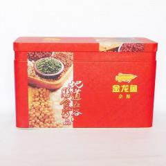 金龙鱼杂粮铁盒礼盒400gx9