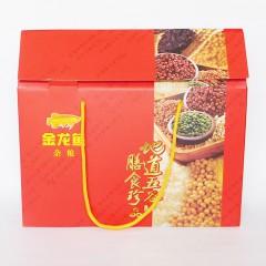 金龙鱼杂粮纸盒礼盒400gx6