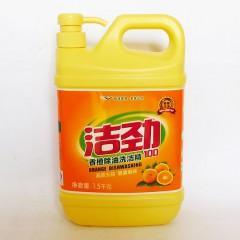洁劲香橙除油洗洁精1.5kg