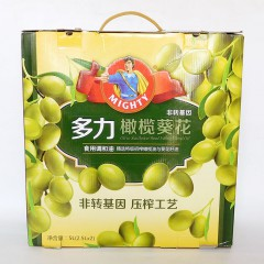 多力L橄榄葵花油2.5LX2礼盒