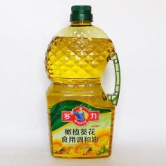 多力橄榄葵花籽调和油油2.5L