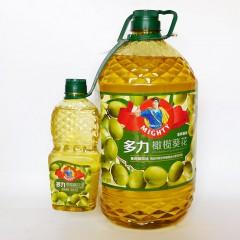 多力橄榄葵花籽油5L