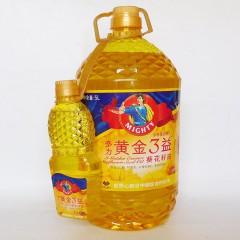 多力黄金三益葵花籽油5L