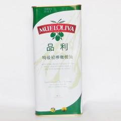 品利特级初榨橄榄油单只4000ml