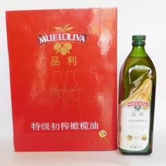 品利特级初榨橄榄油礼盒1000mlx2