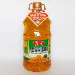 鲁花大豆调和油5L