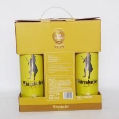 瓦伦丁拉格啤酒8听礼盒500mlx8
