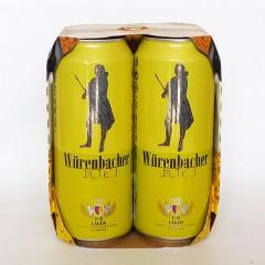 瓦伦丁拉格啤酒500mlx4