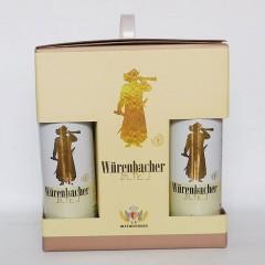 瓦伦丁小麦啤酒8听礼盒500mlx8
