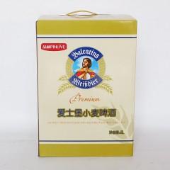 爱士堡小麦啤酒外包装