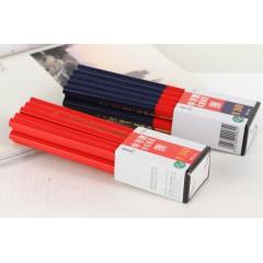 中华木工铅笔   130红蓝/全红  六角