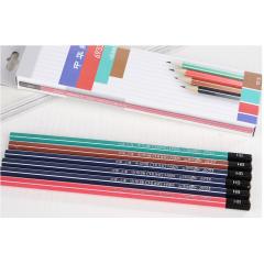 中华学生专用书写铅笔 6733  12支装  六角杆