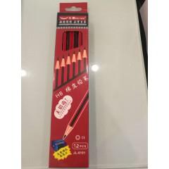 飞雁抽条铅笔 6151  12支盒装(带转笔刀)