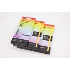 飞雁盒装水溶彩色铅笔  12/24/36/48色  带转笔刀