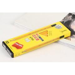中华大三角铅笔 6700  12支装 沾顶 三角杆