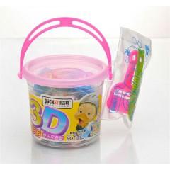 小吉鸭3D 12色彩泥   157