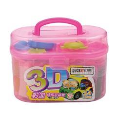 小吉鸭3D 24色彩泥   207
