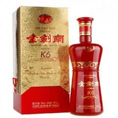 剑南系列 金剑南K6 500毫升 52度 浓香型白酒