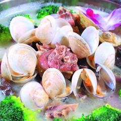海鲜风鹅煲