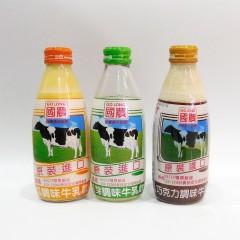 台湾进口国农果味牛奶多种口味250ml*24