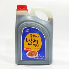 浦源虾油韩式鱼露腌制韩国式辣白菜泡菜海鲜调味汁3kg*4