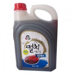 小伙子虾油韩式鱼露腌制韩国式辣白菜泡菜海鲜调味汁3kg*4